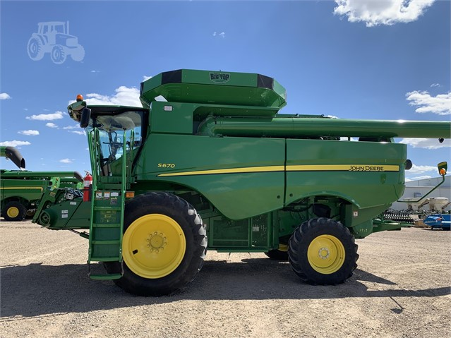2013 JOHN DEERE S670 For Sale In Goodland, Kansas | www
