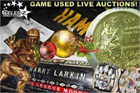 Celebz Direct Auctions - DEC 4.0 - Game Used Collections!