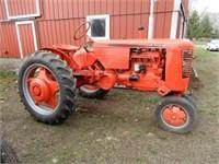 Case VAC Farm Tractor - Starts & Runs