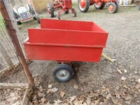 2 Wheel Lawn Dump Cart