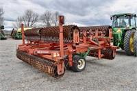 "Roller Harrow, Brillion WL-03; 25', 19"" rollers,"