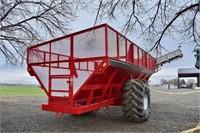 Beet Cart, 2012 Redline 1130; 24' box, poly liner,