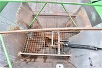"""Grain Cart, 2005 Parker 524; 500 bu, 14"""" auger,"""