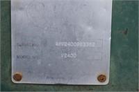 Leveler, Eversman V2400; 24', s-tines, 3 pt,