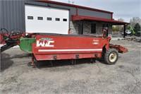 Beet Defoliator, Wic Amity R600; 6R24, rear steer,