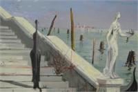 Maurice Buffet Oil on Canvas