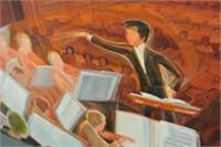 Eliane Bergelin Oil on Canvas