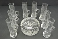 Glass & Crystal Lot