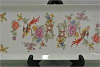 Hollohaza Hungarian Porcelain Tray