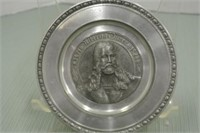 Pewter Wall Plates (2)