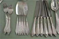 6 Place Setting Silverplate Flatware