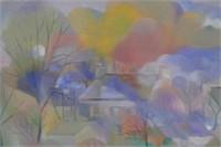 Yves Mariel-Bussy Oil on Canvas