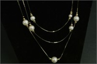 Ladies Evening Costume Jewellery Necklace