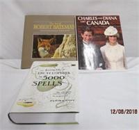 3 hardcover books Robert Bateman, Royalty book