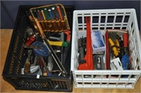 Two Crates Assorted Hand Tools