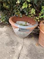 Estate lot of flower pots