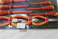 Screwdriver and Pliers Set