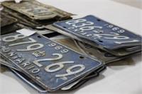 Ontario Car Licence Plates