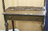 1920s Table and Lamp Etcetera
