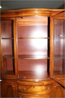 Serpentine Front China Cabinet