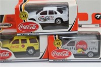 Coca Cola Matchbox Vehicle Models
