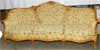 Large French Style Couch