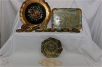 Trays and Serving Set