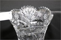 Two Pieces of Cut Glass