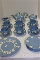 Wedgwood Jasperware Tea Set