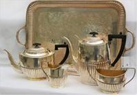 Silverplate Tea and Coffee Set