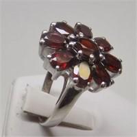Natural Garnet Gemstone Ring