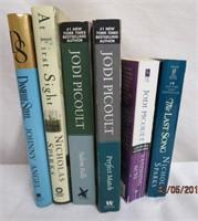 Books Jodi Picoult, Nicholas Sparks, Danielle
