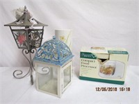 Compact food chopper, candle lamp, lantern and