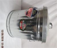 10 gallon galvanized trash can