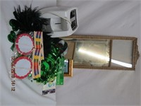 B&D toaster, picture frames, party decorations etc