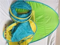 3 pop up tents