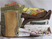 Assortment of tea towels and aprons
