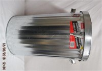 75L galvanized trash cans