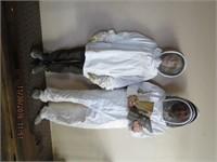 Beekeeping apparel - 2 coveralls, jacket, helmet,