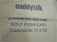 CADDY TEK GOLF PUSH CART