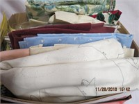 Linen patterns ready to embroider, tablecloth
