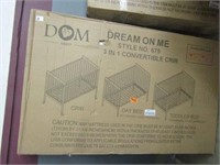 DREAM ON ME - THREE IN ONE CONVERTABLE CRIB