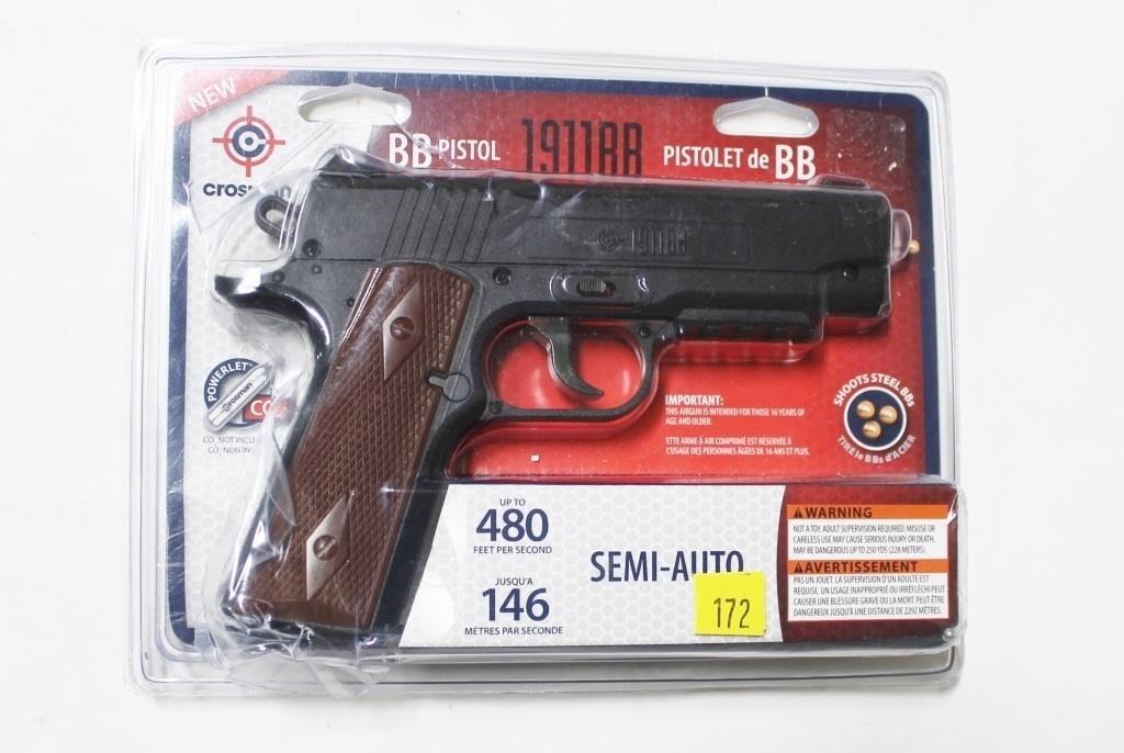 Crosman 1911 BB CO2 air pistol 4 5mm in original | Hessney Auction
