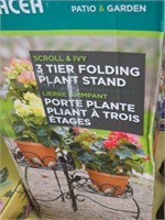 THREE TIER FOLDING PLANT STAND