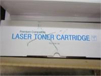 4 PCS TONER CARTRIDGES (NEW & USED)