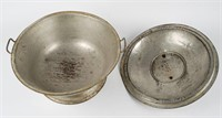 Galvanized Bread Pan with Lid