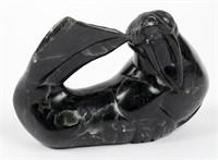 Soap Stone Walrus Black