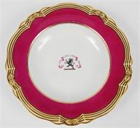 Worcester Porcelain Plate Circa 1847-50