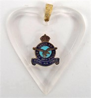 Royal Airforce Sweetheart Pendant