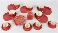 Royal Winton Tennis Tea/Coffee Set